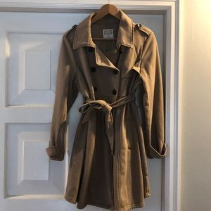 Old Navy Maternity trench coat